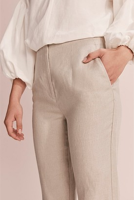 Country Road Darted Organically Grown Linen Pant