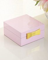 Kate Spade Pink Sqaure Jewelry Box