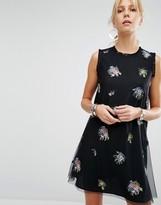 SPORTMAX CODE Sportmax Code A-Line Dress with Embellishment
