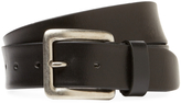 Berge Men's Five Notch Leather Belt