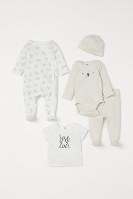H&M 5-piece Gift Set - White