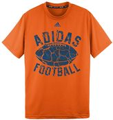 adidas Boys 8-20 Climalite Football Crumble Tee
