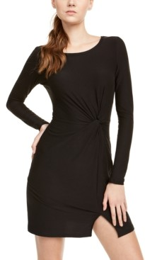Ultra Flirt Juniors' Twisted Bodycon Dress