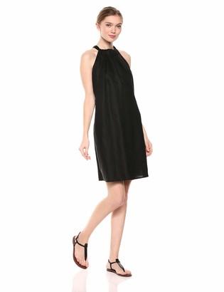 28 Palms Amazon Brand 100% Linen Halter Shift Dress Casual