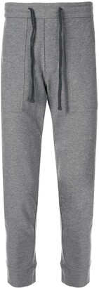 James Perse Heathered knit track pants