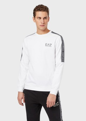 Emporio Armani Long-Sleeved T-Shirt With Logo Bands