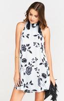 MUMU V-Right Back Mini Dress ~ Dusk to Dawn Floral