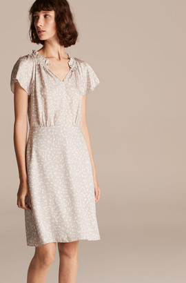 Rebecca Taylor Tailored Daisy Petal Dress