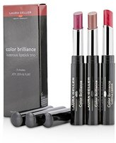 Laura Geller Color Brilliance Lustrous Lipstick Trio - 3x 1.8g/0.06oz