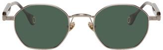 Études Silver and Grey Liberte Sunglasses