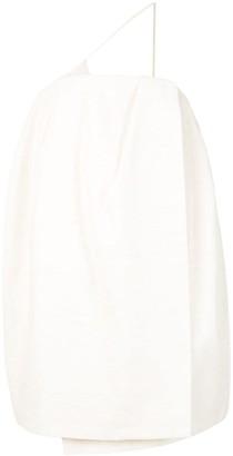 Jacquemus One-Shoulder Shift Dress
