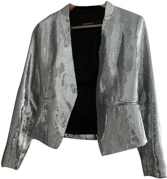 Blank NYC Silver Glitter Jacket for Women