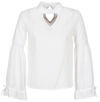 Vila VIMAZA women's Blouse in White