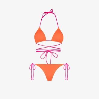 Reina Olga Miami tie detail bikini