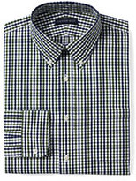 Classic Men's Tall 40s Poplin Dress Shirt-Boreal Moss Multi Gingham