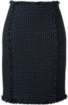 Gianluca Capannolo woven pencil skirt - women - Acrylic/Nylon/Virgin Wool - 40