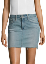 AG Adriano Goldschmied Women's Sandy Mini Denim Skirt