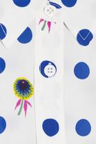 Equipment Brett printed washed-silk shirt