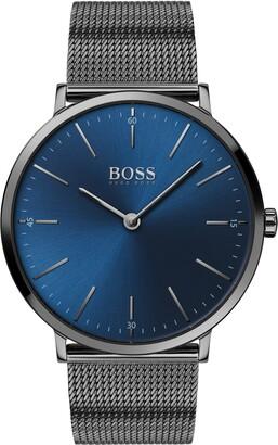 HUGO BOSS Horizon Mesh Strap Watch, 40mm