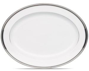Noritake Dinnerware, Austin Platinum Large Oval Platter