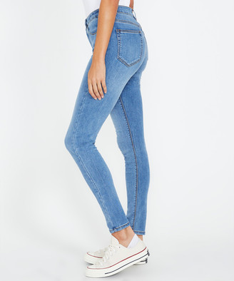 Insight Molly Mid Rise Skinny Jeans Origin Blue