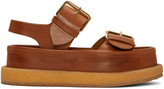 Stella McCartney Brown Buckles Sandals
