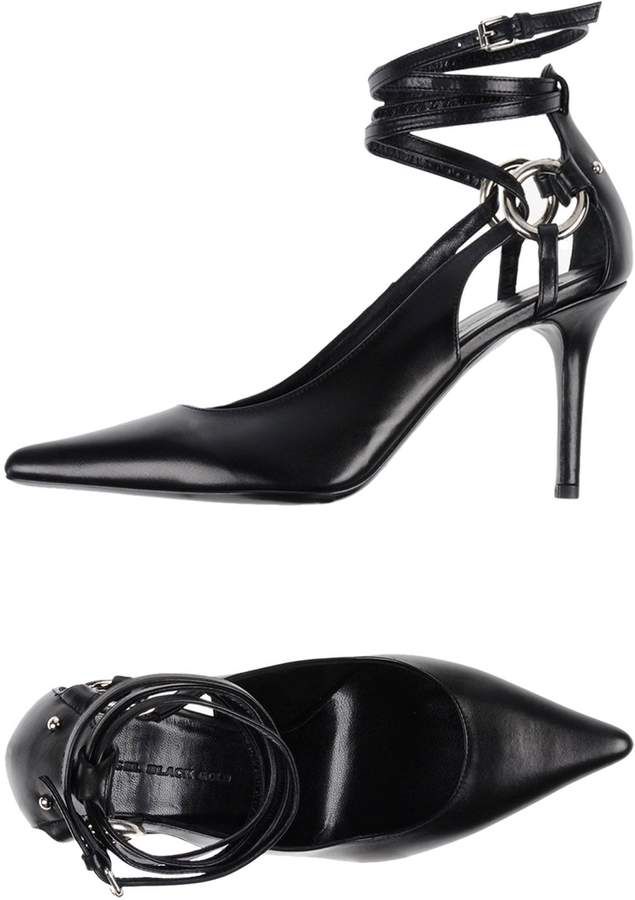 Diesel Black Gold Pumps