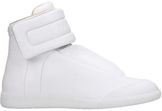 Maison Margiela Future Sneakers In White Leather