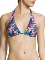 Emilio Pucci Bermuda Print Bikini Top