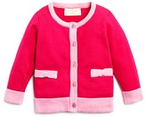 Kate Spade Infant Girls' Colorblock Bow Cardigan - Sizes 3-9 Months