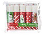 Simple Pleasures 5-pc. Candy Christmas Glitter Lip Balm Set