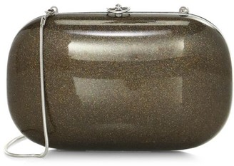 JEFFREY LEVINSON Elina PLUS Metallic Fleck Clutch