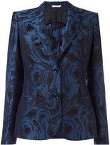 Tonello jacquard blazer - women - Cotton/Linen/Flax/Cupro - 42