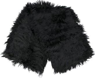 Gucci Black Fur Scarf