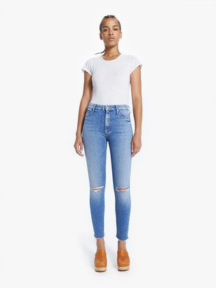 Mother The High Waisted Looker Ankle Fray - Spice It Up