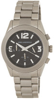 Karl Lagerfeld Men&s Kurator Bracelet Watch
