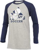 adidas ClimaLite Soccer Graphic-Print Raglan, Toddler Boys (2T-5T)