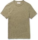 Officine Generale Mélange Cotton-Jersey T-Shirt