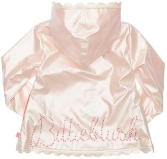 Billieblush Iridescent Raincoat W/ Hood