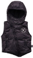 Nununu Boys' Hooded Down Vest - Little Kid, Big Kid