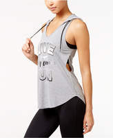 Energie Active Juniors' Rodika Layered-Look Graphic Tank Top