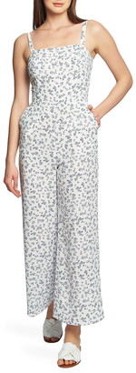 1 STATE Afternoon Bouquet Back Tie Jumpsuit
