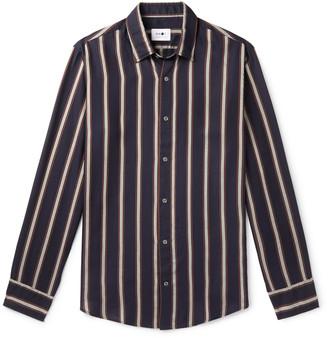NN07 Errico Striped Tencel Shirt