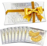 24K Nano Gold Collagen Eye Patches Mask - Repair and Moisturize Puffy Eyes, Dark Circles (8 Pairs)