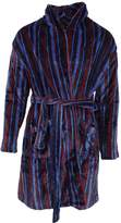 Pierre Rocheens Super Soft Stripe Design Dressing Gown/Robe