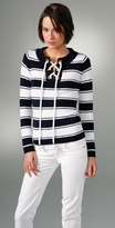 Milly Lace Up Sailor Sweater