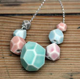 MeMeMe me me me Faceted Stone Necklace