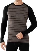 Smartwool NTS 250 Midweight Pattern Base Layer Top - Merino Wool, Long Sleeve (For Men)