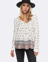 Roxy Womens A Sky Full Of Stars Long Sleeve Top