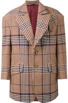 Vivienne Westwood Man - 'Clarke' caban jacket - men - Polyamide/Wool - 48